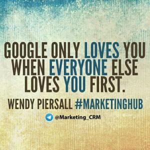 گوگل زمانی شما را دوست دارد که همه شما را دوست داشته باشند